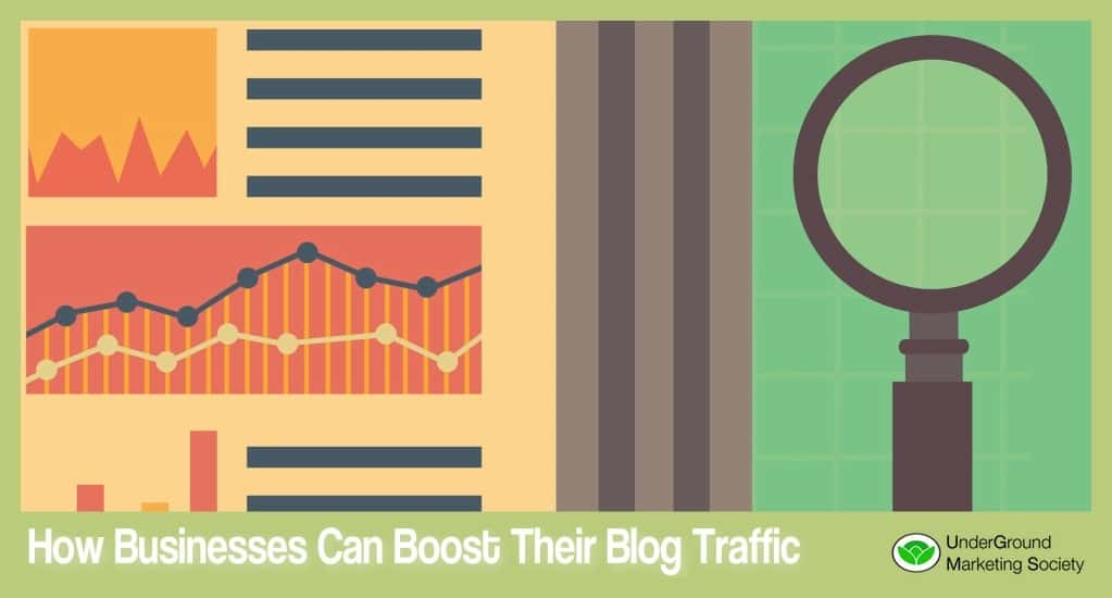 How Businesses Can Boost Blog Traffic