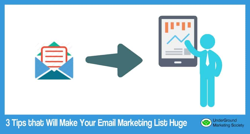 Here's How You Grow Your Email Marketing List Quickly